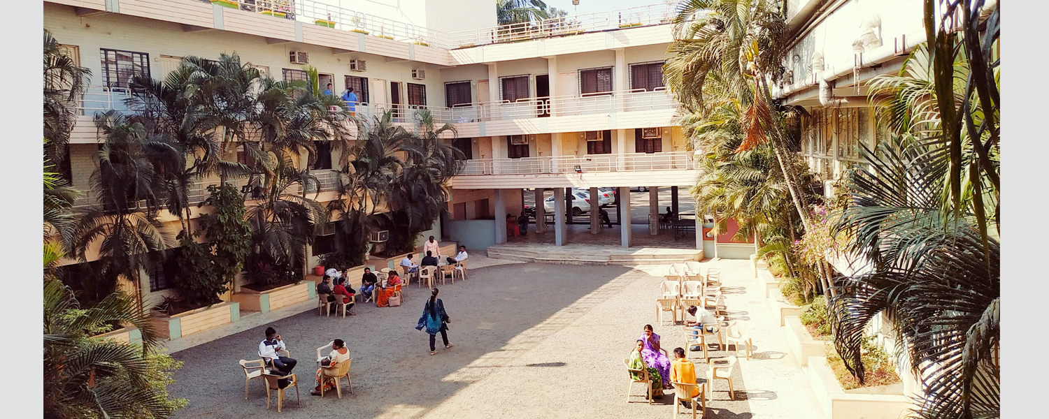 Centrally located hotel in Nasik